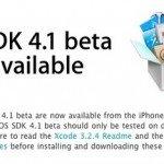iOS 4.1 исправление ошибок, новый функционал