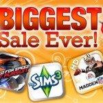 Electronic Arts — распродажа. Все по $0.99
