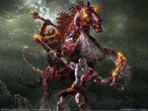 Art к God of War 2, одной из самых лучших игр на PS2