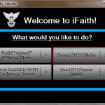 iFaith: первый в мире дампер SHSH