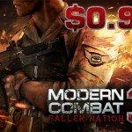 Распродажа от Gameloft – Modern Combat 3 всего за $0.99!