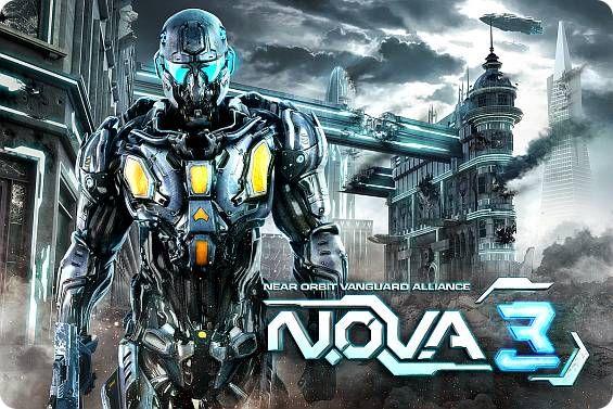 N.O.V.A. 3 от Gameloft [App Store] Шутер от первого лица Шутер Игры Gameloft FPS AppStore
