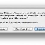 Вышла iOS 5.1.1