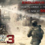 Modern Combat 3: Fallen Nation почти даром