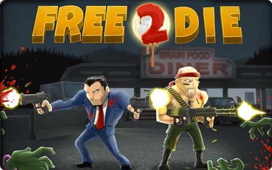 Free 2 Die   лучший зомби дуал стик шутер! Шутер Игры Zombie Infection Zombie AppStore