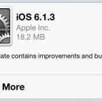 Вышла iOS 6.1.3