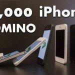 Домино из 10 000 iPhone 5