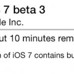 Вышла iOS 7 Beta 3