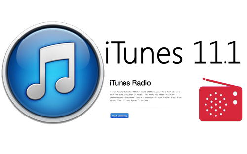 iTunes 11.1 radio