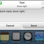 Anemo — готовящийся твик для быстрого ответа на сообщения