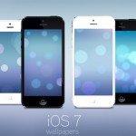 Подборка стандартных обоев iOS 7 для iPhone/iPod Touch