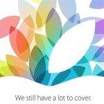 iPad Event 2013 [Live]