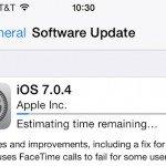 iOS 7.0.4 доступна для скачивания