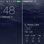 Forecast — прогноз погоды на локскрине устройства