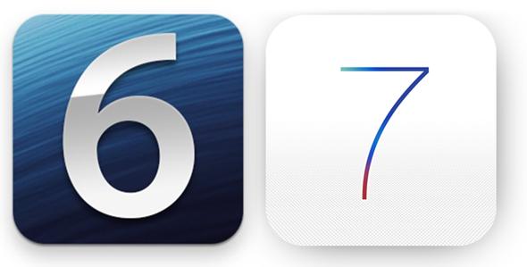 iOS-6-vs-7