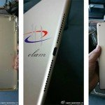 В сети появились утекшие фотографии корпуса iPad Air 2